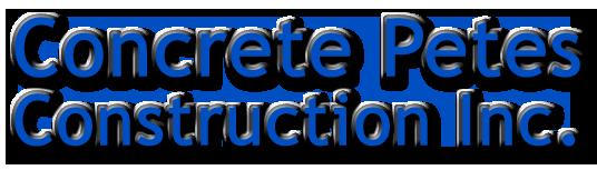 Concrete Petes Construction Inc