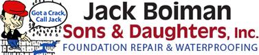 JACK BOIMAN SONS & DAUGHTERS FOUNDATION REPAIR & WATERPROOFING