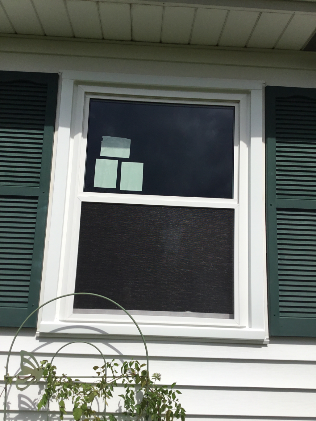 alside double hung window after