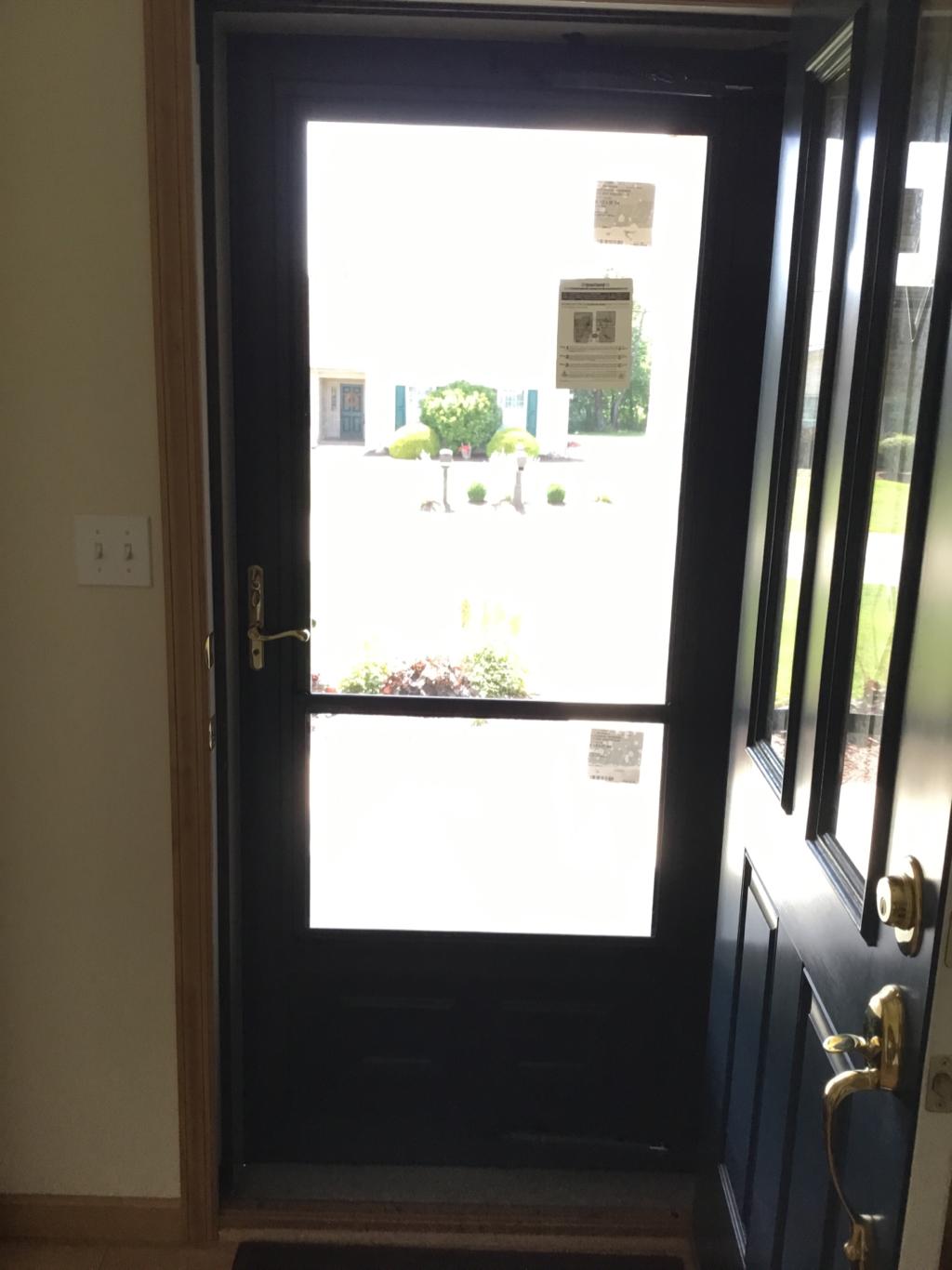 Storm Door From Inside In Mt Pleasant, PA